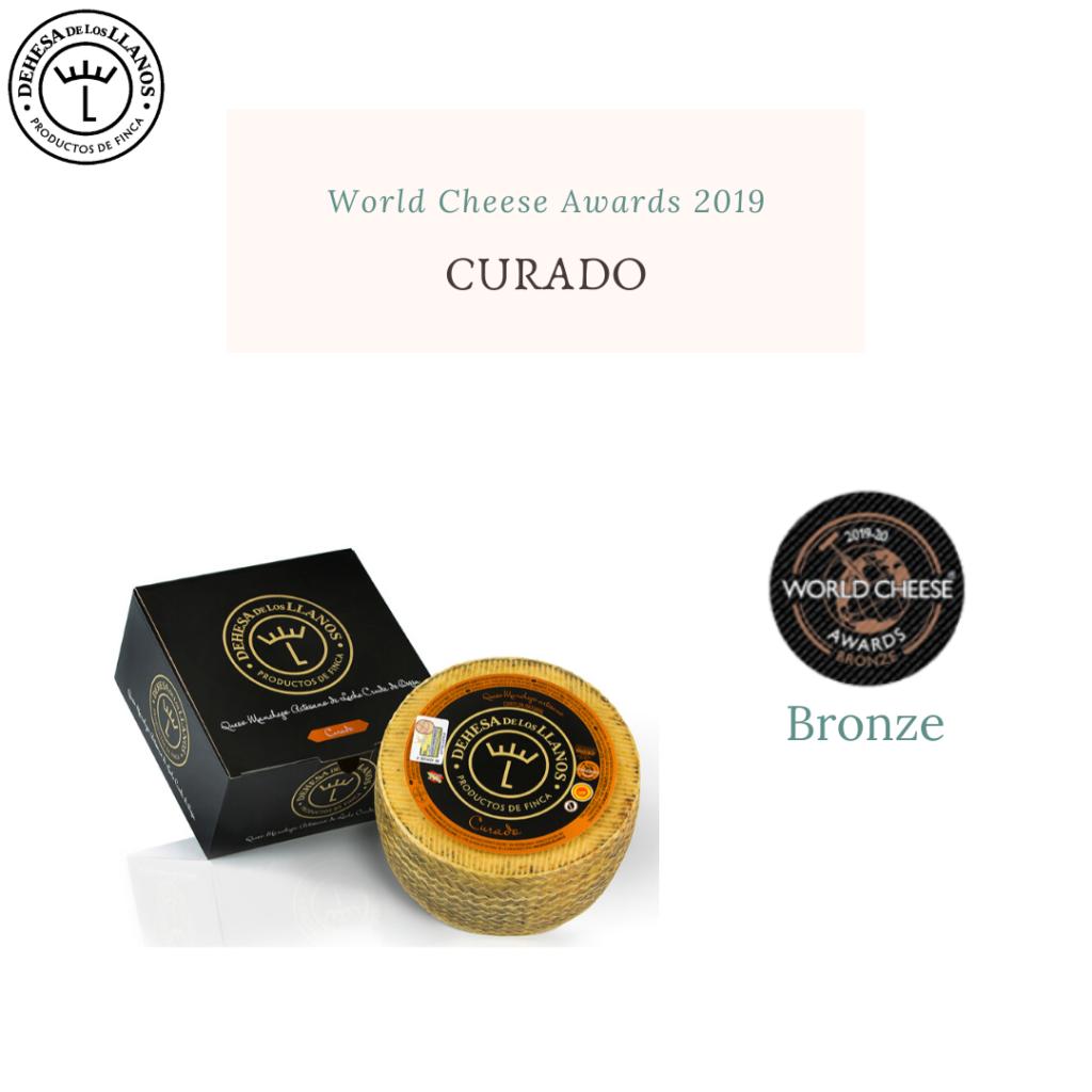 resultado world cheese awards 2019 curado dehesa de los llanos premio bronce